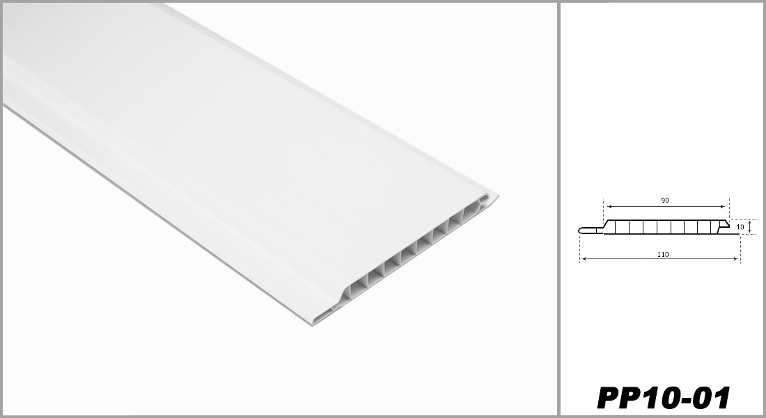 1 qm | Paneele | Wandverkleidung | Auswahl | 200x10cm | HEXIM | PP10