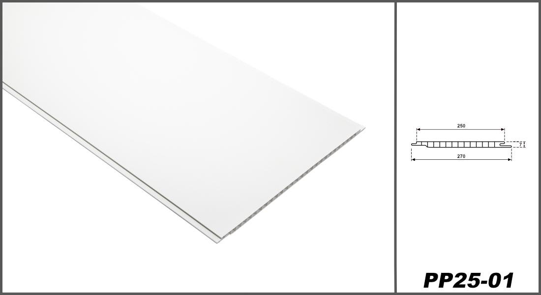 1 m² PVC Paneele | Innenwand | Decke | feuchtfest | 200x25cm | PP25