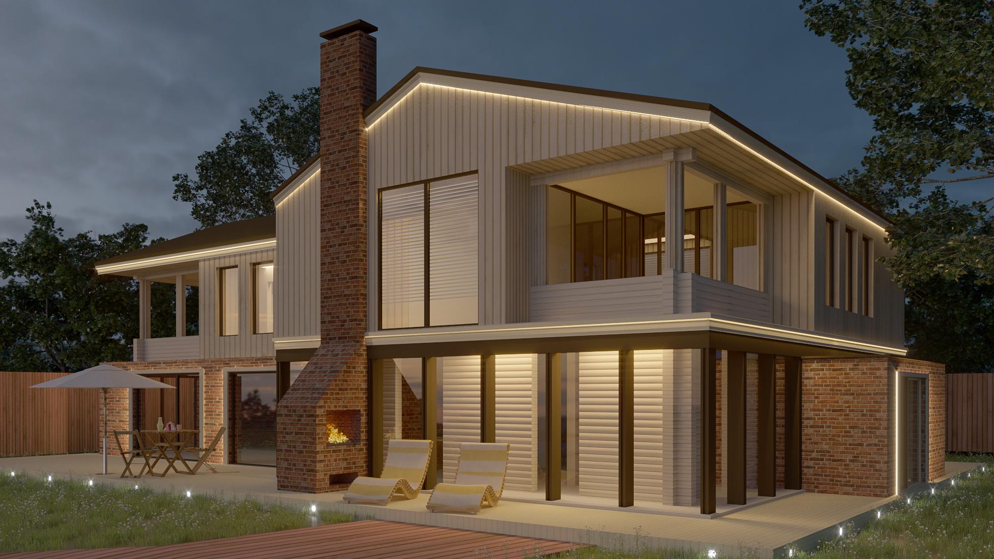 LED Fassadenprofile