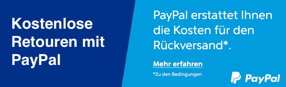 PayPal Kostenlose Retouren