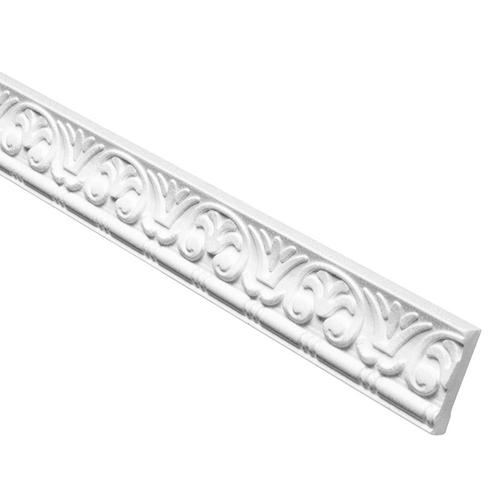 Flachleiste mit Muster aus Polyurethane PU / Hartschaum