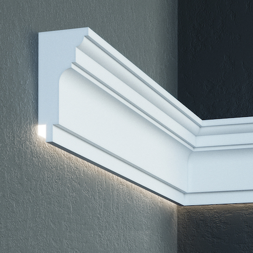 LED Fassadenprofile Stuckprofile