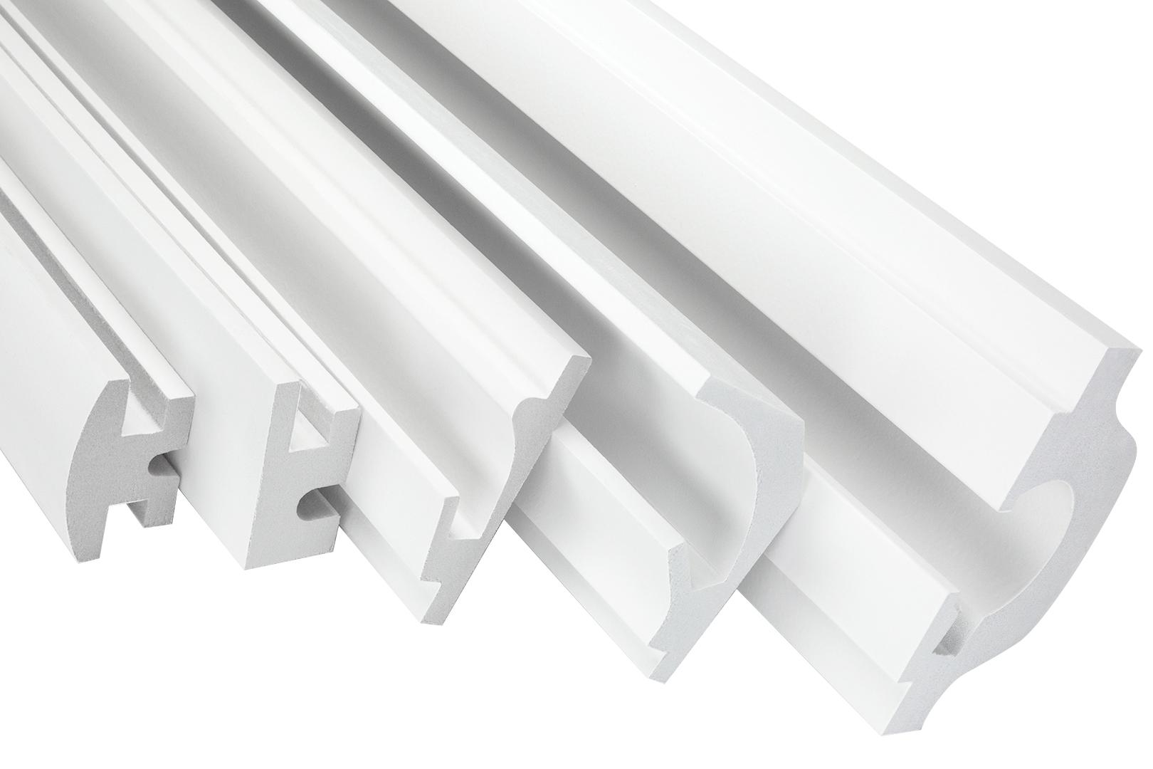 1 SET Muster Musterstücke Warenmuster Stuck Polystyrol LED Lichtleiste KD Serie