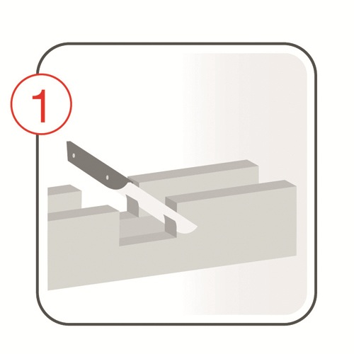 Dekorbalken - Montagebild1