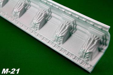 [Paket] 100 Meter Eckprofile Styroporleisten Deckenleisten Dekor Stuck 90x47mm, M-21