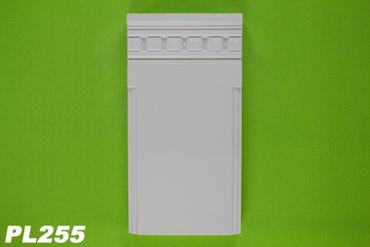 1 Basisteil für Pilaster Körper PL253 Innendekor Stuck Wand stoßfest PL255