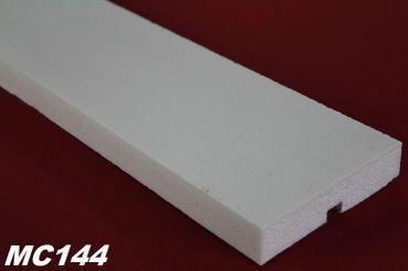 [Paket] 40 Meter Dekorleisten Hausfassade Stuckprofile stoßfest 110x25mm MC144