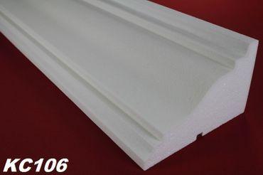[Sparpaket] 20 Meter Fassadenprofile Dekorleisten Gesims stoßfest 210x130mm, KC106