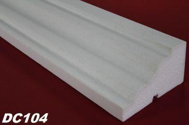 [Paket] 50 Meter Fensterbankprofile Dekor Stuck Haus stoßfest 145x80mm DC104