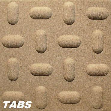 1 m² Platten mywall 3D Wand Paneele 50x50cm, TABS