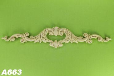 1 Dekorelement Dekor Wanddekoration Innen Polyurethane stoßfest 120x615mm A663