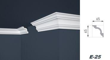 [Sparpaket] 1056 Meter Großhandel Großabnahme Paket Palette Profile Zierleisten 65x65mm E-25