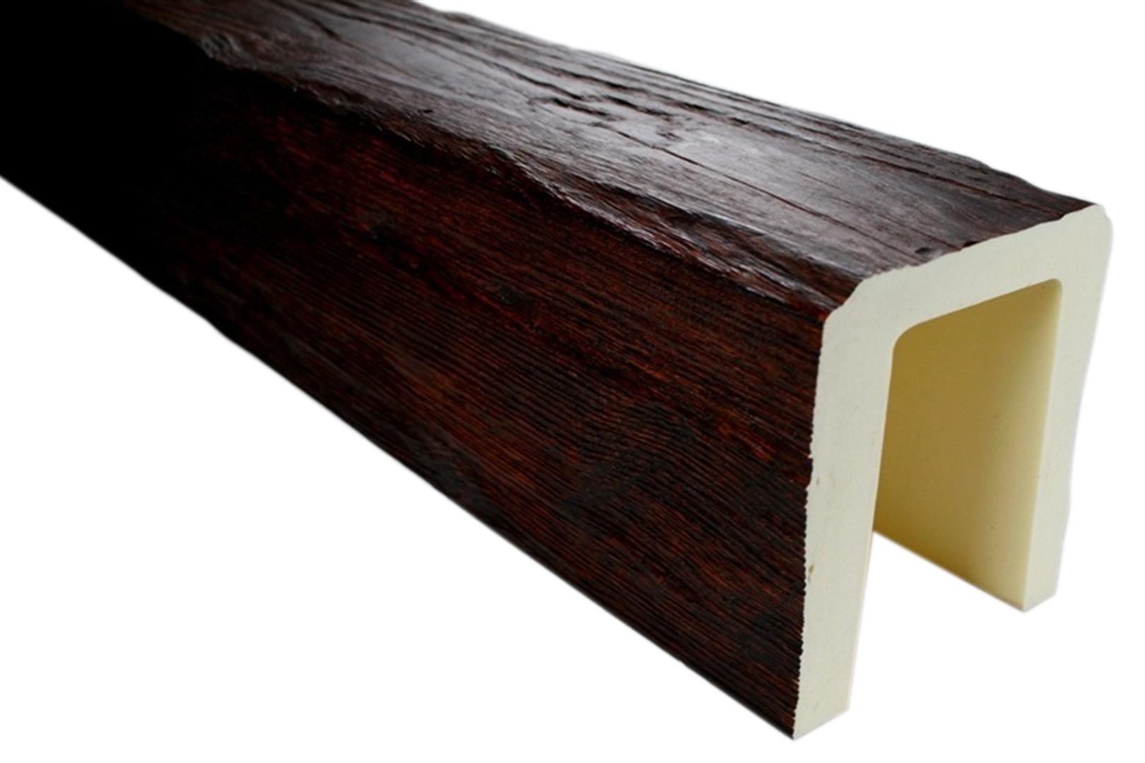 3 Meter Deckenbalken Balken Holzimitat 190x170mm ED104 D Serie Modern