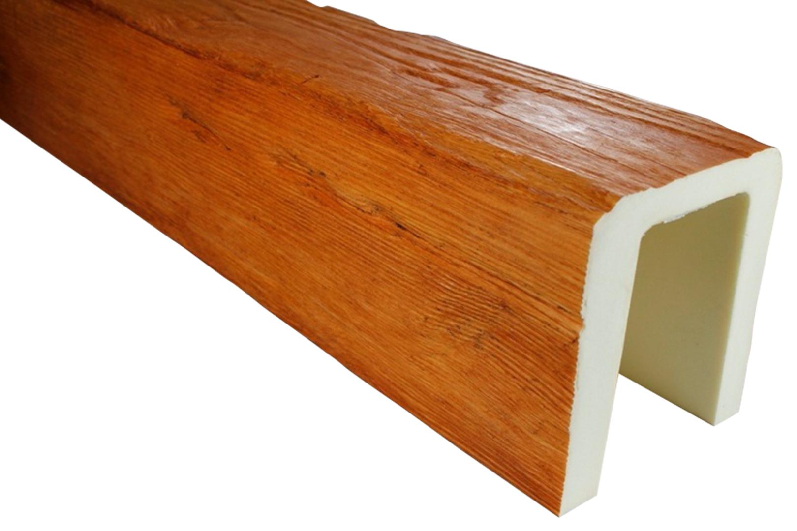 3 Meter Deckenbalken Balken Holzimitat 190x170mm ED104 H Serie Modern