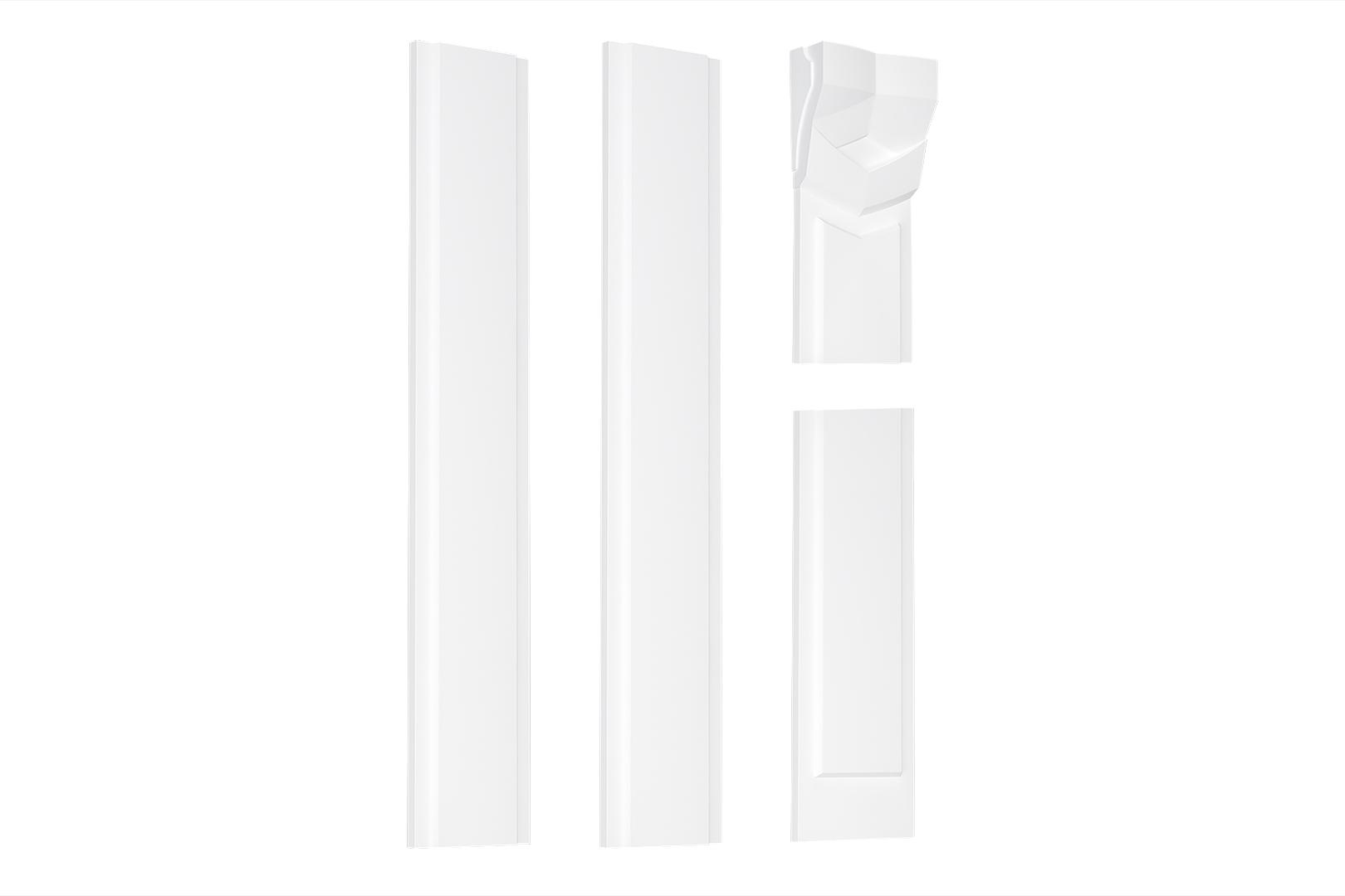 Pilaster | Wandpfeiler | Komplett | Stuck | EPS | PL-03