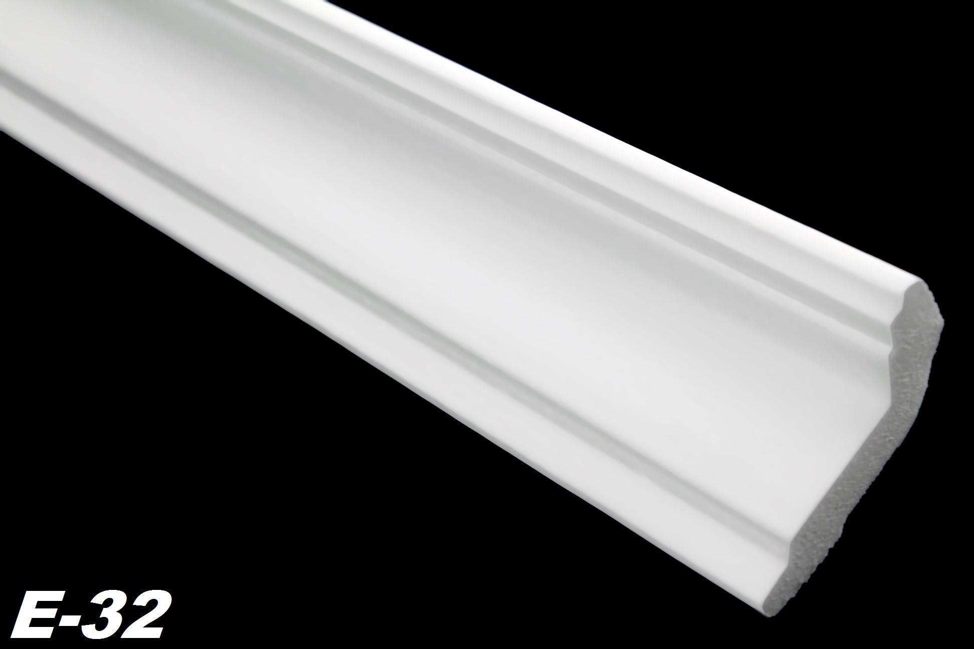 paket] 40 meter + 5 ecken zierprofile eckleisten styropor stuck hart