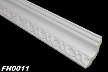 [Sparpaket] 10 Meter PU Profile Zierleisten Eckprofile Dekor stoßfest 73x68mm, FH0011