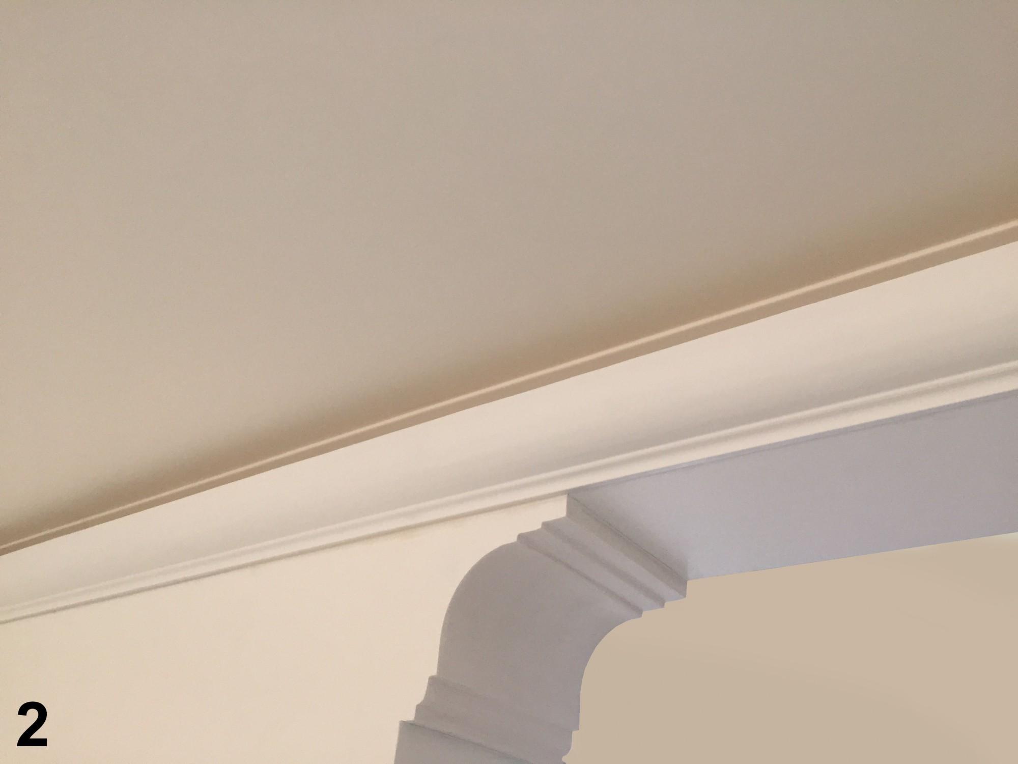 100 meter led profil, pu stuckleiste indirekte beleuchtung, Wohnzimmer dekoo