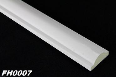[Sparpaket] 40 Meter PU Flachprofile Leisten Wand Dekor Stuck stoßfest 41x16mm, FH0007