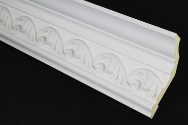 [Paket] 10 Meter PU Zierleisten Profile Innen Dekor Stuck stoßfest 133x76mm, FH1001