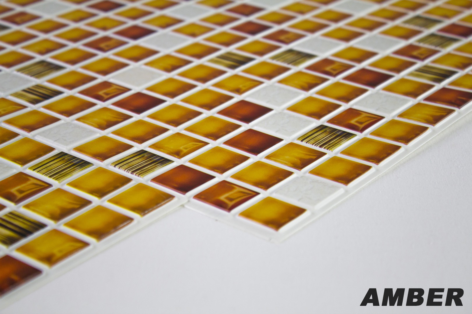 Simple Pvc Dekorplatte Mosaic Platten Wand Innen Xcm Amber With Wand Innen.