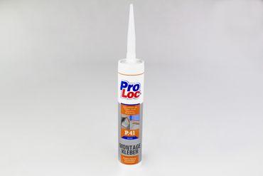 1 Kartusche Montagekleber Baukleber Kleber hohe Haftung Frostfest ProLoc P41