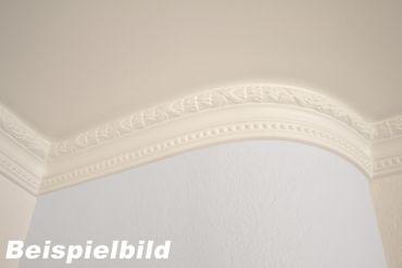 2 Meter Zierprofil Leiste Wand Innen Stuck Ecke flexibel 67x63 mm, P814 FLEXI