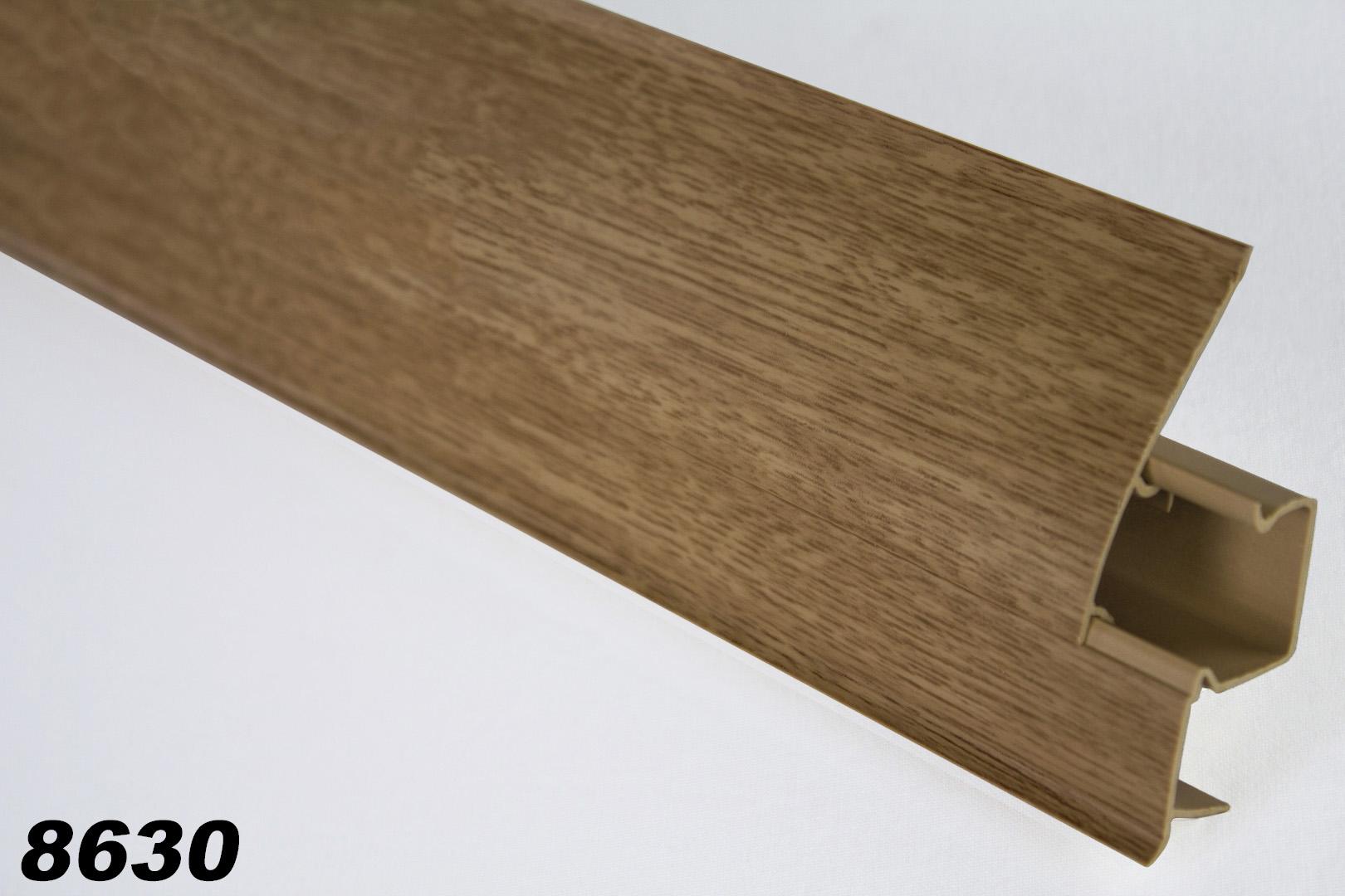 paket] 10 meter pvc sockelleisten modern, fußleisten, kabelkanal