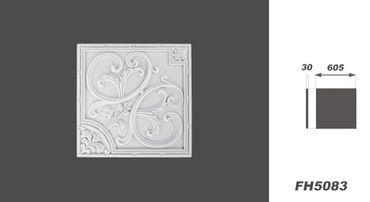 [Sparpaket] 20 PU Platten Deckenplatten Dekorplatten Stuck Dekor stoßfest 60x60cm, FH5083