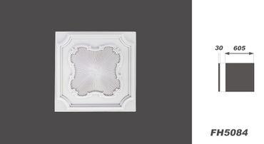 [Sparpaket] 20 PU Platten Deckenplatten Dekorplatten Stuck Dekor stoßfest 60x60cm, FH5084