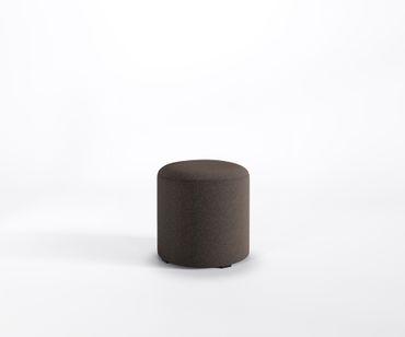 Designer Hocker MIA ROLLER Lounge Sitzpouf Fußstütze Polster Webstruktur LUNA
