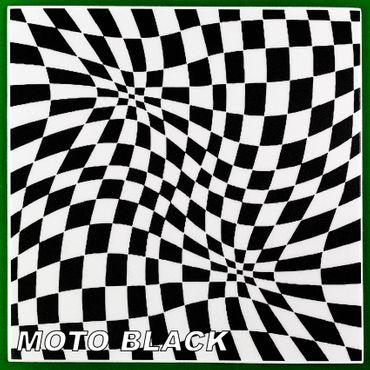 [Paket] 10 m² Deckenplatten Panorama-Effekt Styroporplatten Paneele 50x50cm, MOTO BLACK