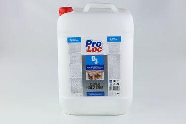 [Paket] 30 kg Super Holzleim wasserfest DIN EN 204 Holzkleber schnelle Haftung ProLoc D3