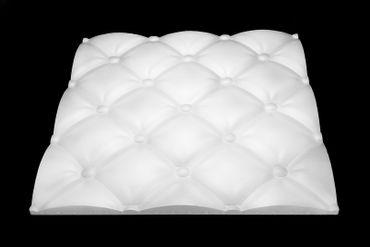 [Sparpaket] 19,5 m² Platten 3D Polystyrol Wand Decke Paneele Wandverkleidung 60x60cm, PIKO
