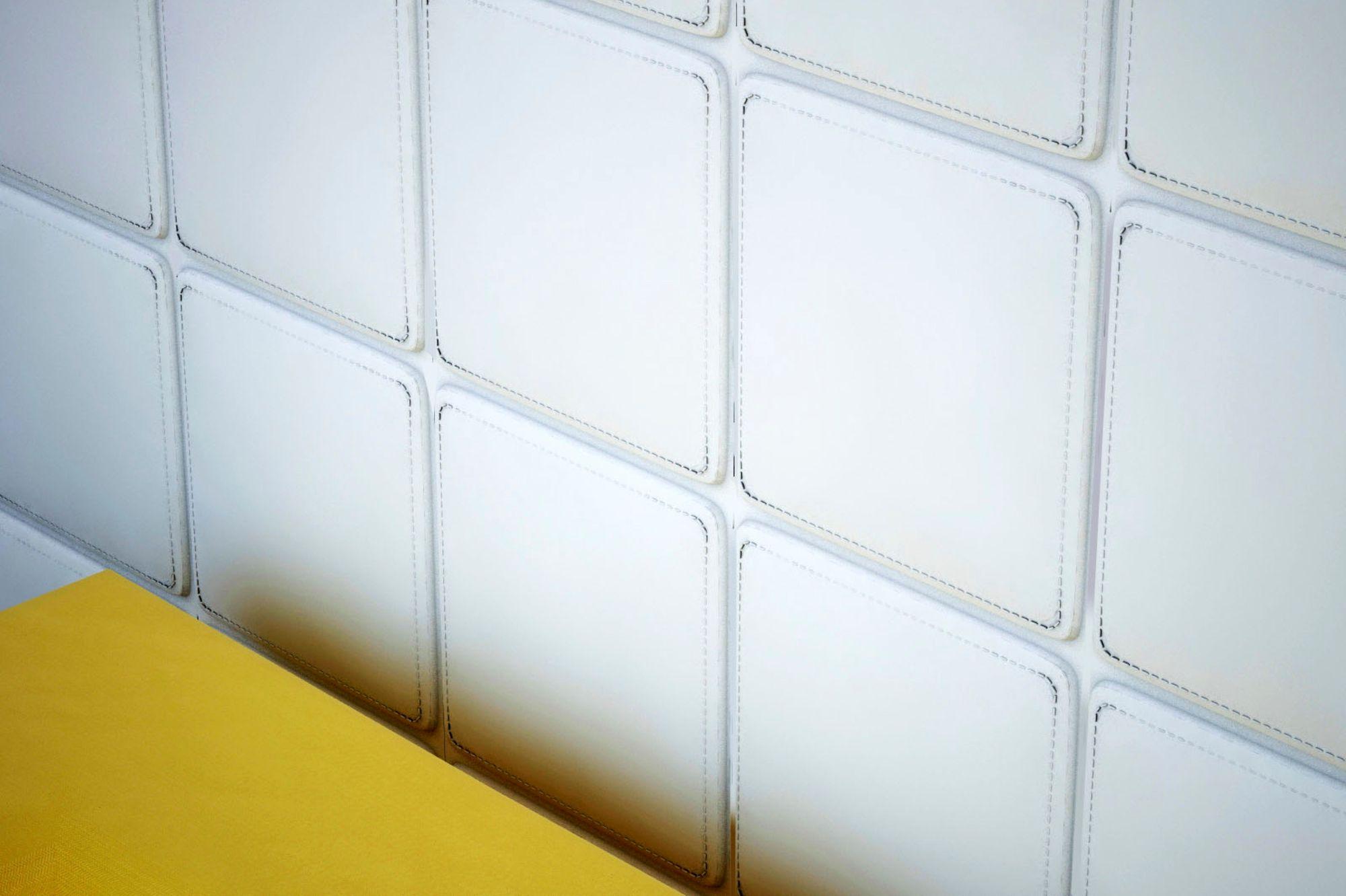 1 Platte 3D Paneele Wandpaneele Wandplatte Stuck Dekor Stoßfest 30x30cm,  W321