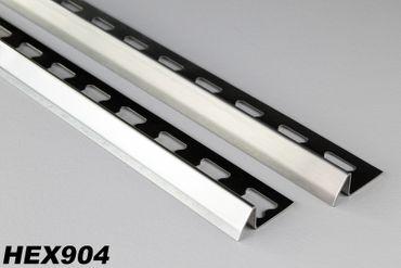 2 Meter Edelstahl Ausgleichsprofil Übergangsprofil Fliesenschiene Fliesen HEX904