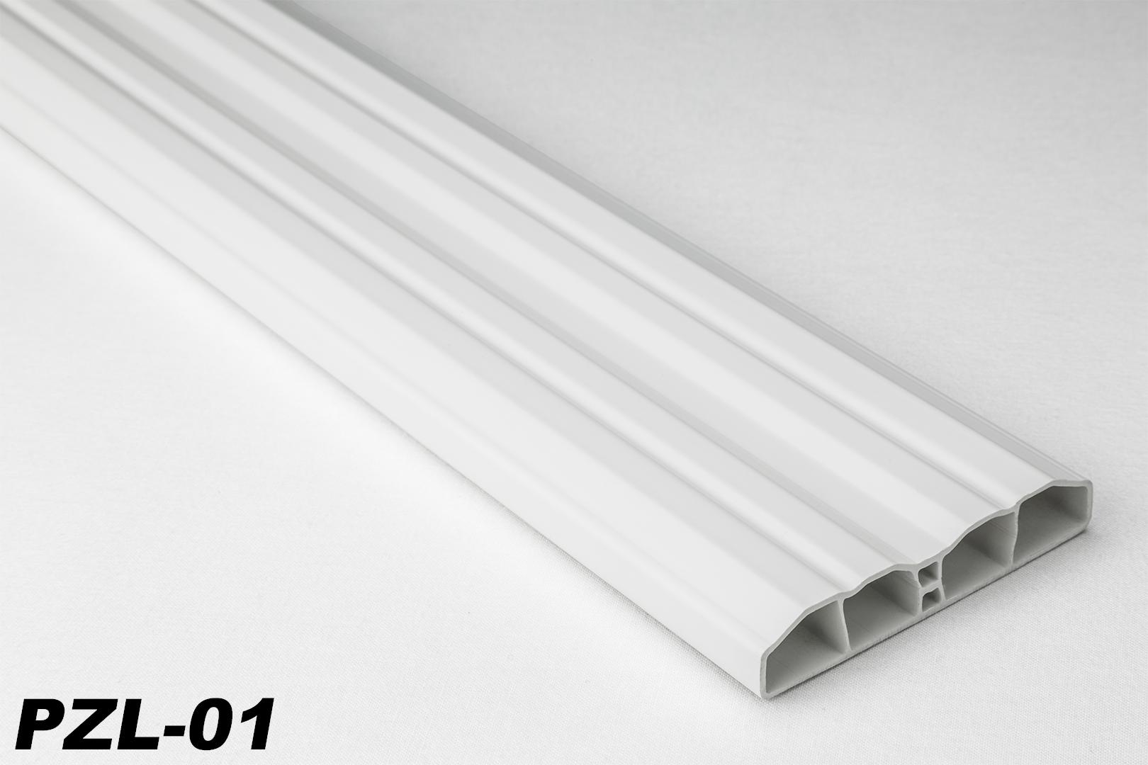 Sparpaket 40 Meter Pvc Zaunlatten Kunststoff Profile Bretter
