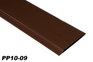 [Paket] 10 m²  PVC Paneele Bretter Platten Wandverkleidung 200x10cm PP10-09 braun