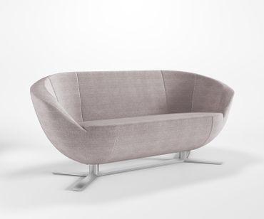 Relaxsofa 3-Sitzer ONLY PLUS A Loungesofa Cocktailsofa Bürocouch Webstruktur CELTIC