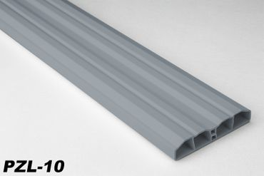 [Paket] 100 Meter PVC Zaunlatten Kunststoff Profile Bretter Gartenzaun 80x16mm, PZL-10