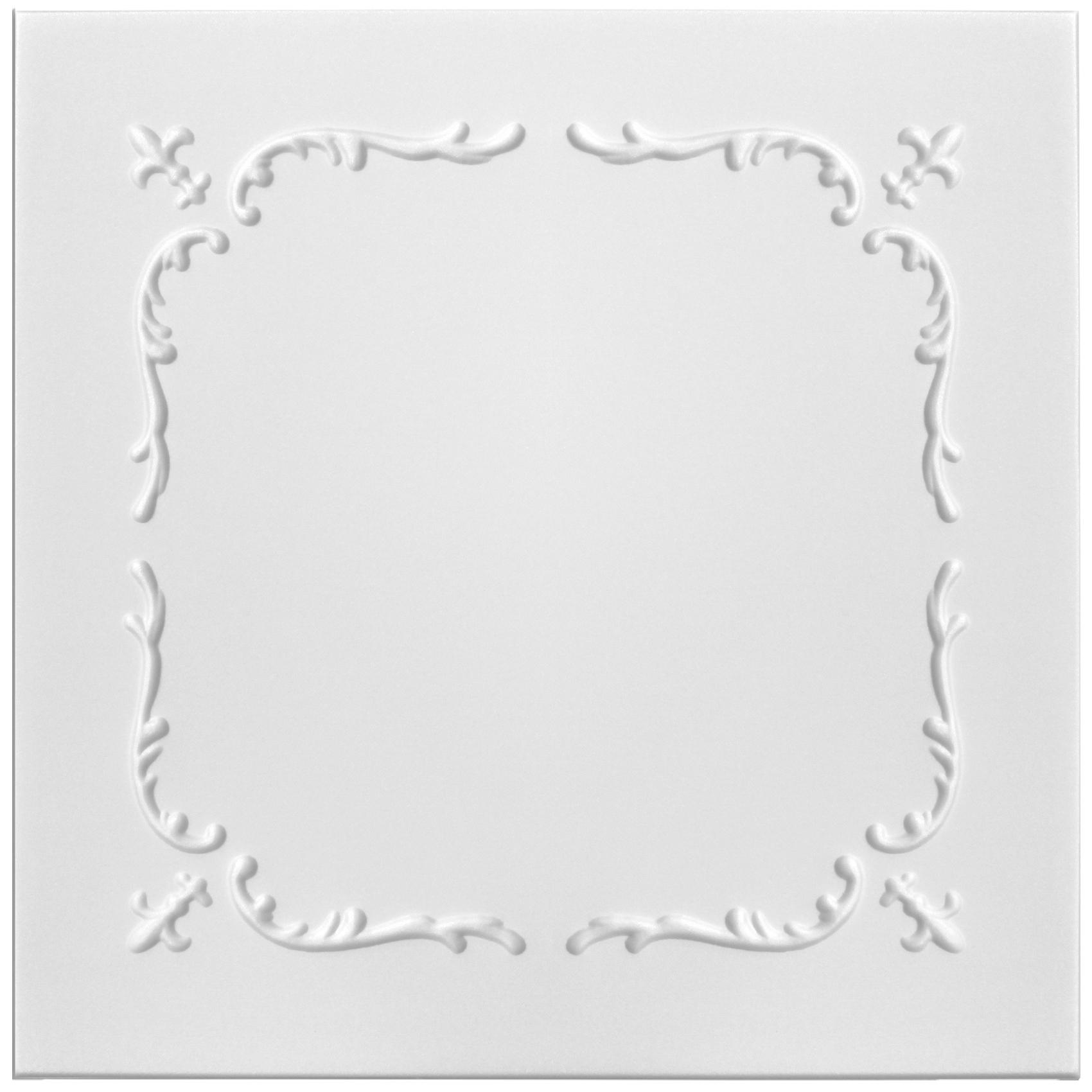 Deckenplatten | XPS | formfest | Hexim | 50x50cm | Nr.17