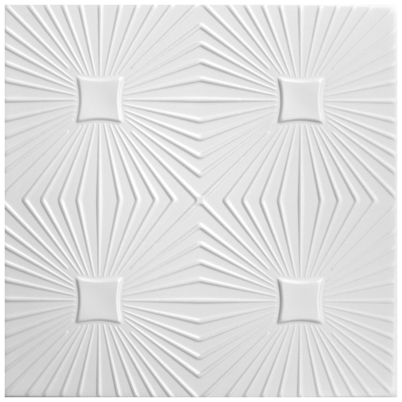 Deckenplatten   XPS   formfest   Hexim   50x50cm   Nr.40