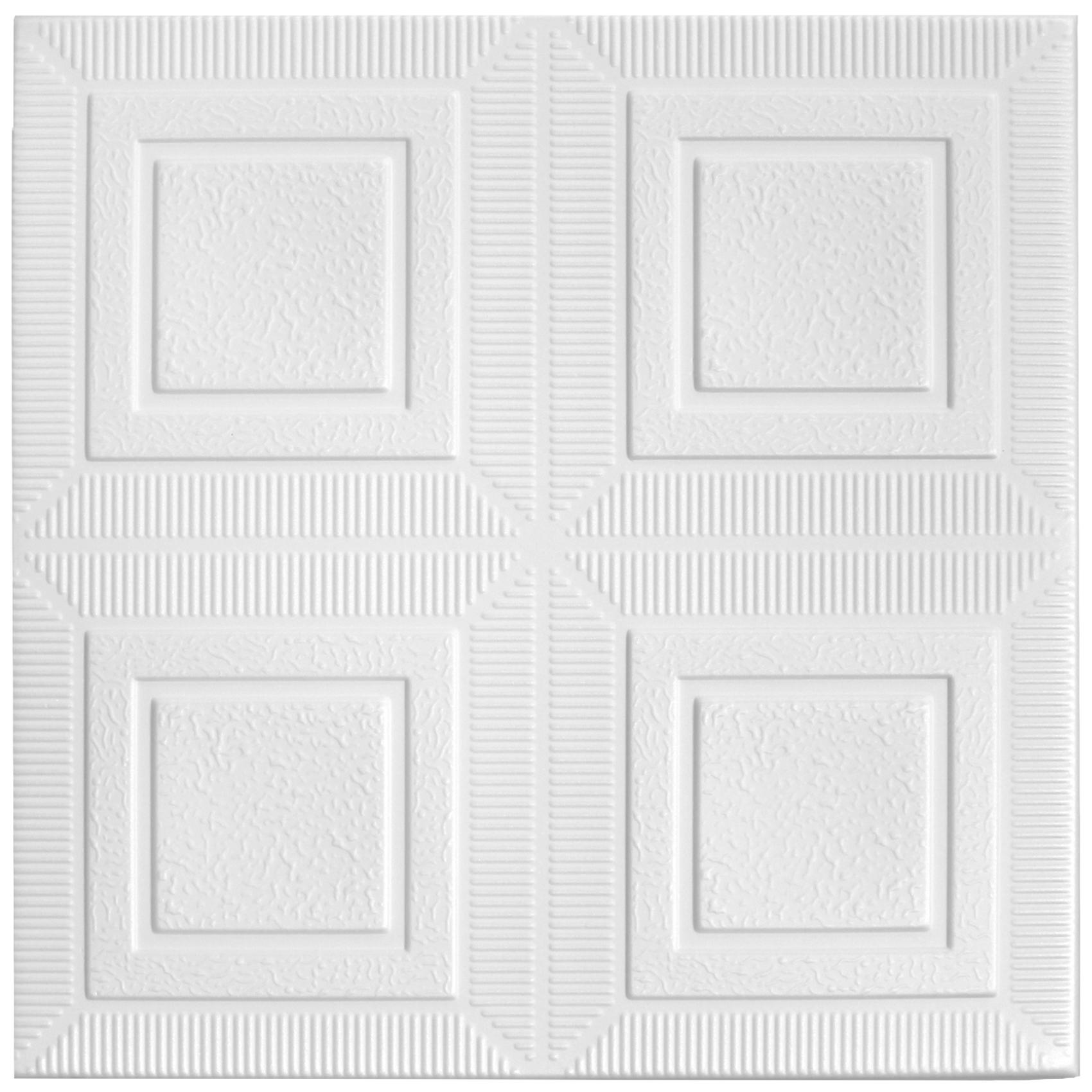 Deckenplatten | XPS | formfest | Hexim | 50x50cm | Nr.65