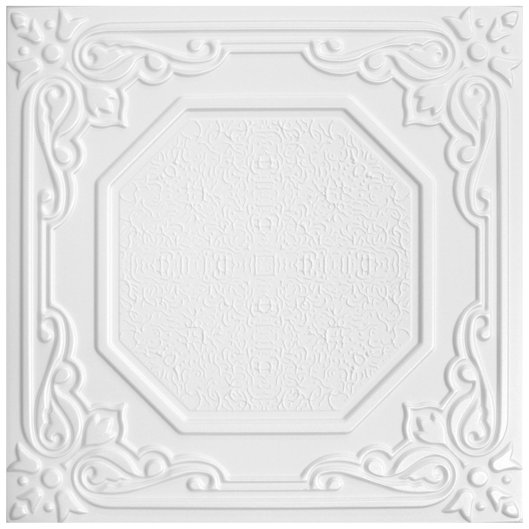 Deckenplatten | XPS | formfest | Hexim | 50x50cm | NR.68