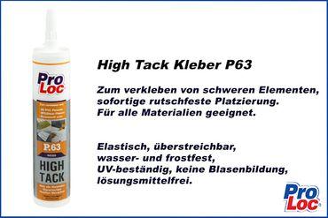 1 Kartusche | Montagekleber | High Tack | MS- Polymer | ProLoc P63