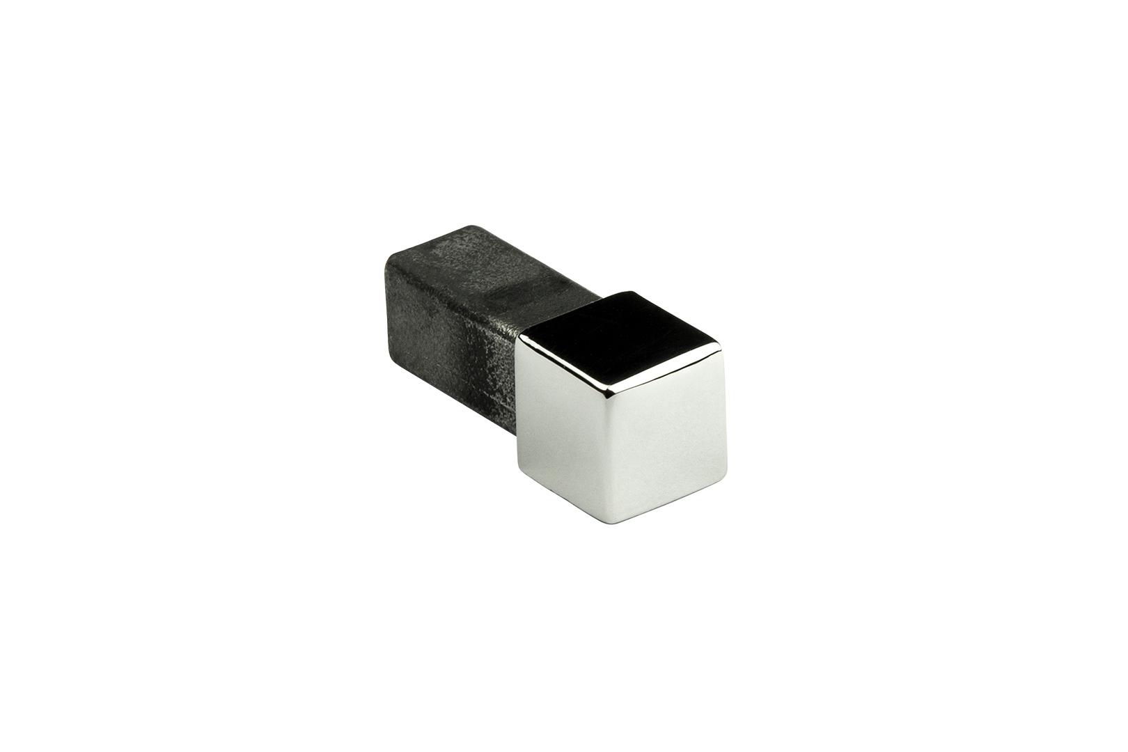 Eckstück   Quadrat   Edelstahl   Hexim   10-12mm   HEX401