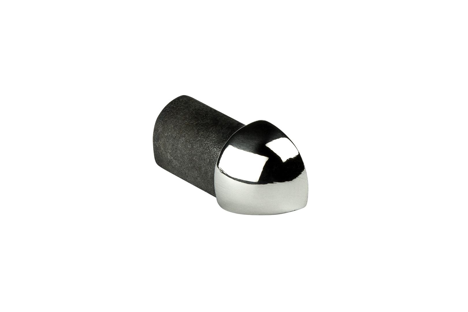 Eckstück | Viertelkreisprofil | Edelstahl | HEXIM | 10-12mm | HEX501