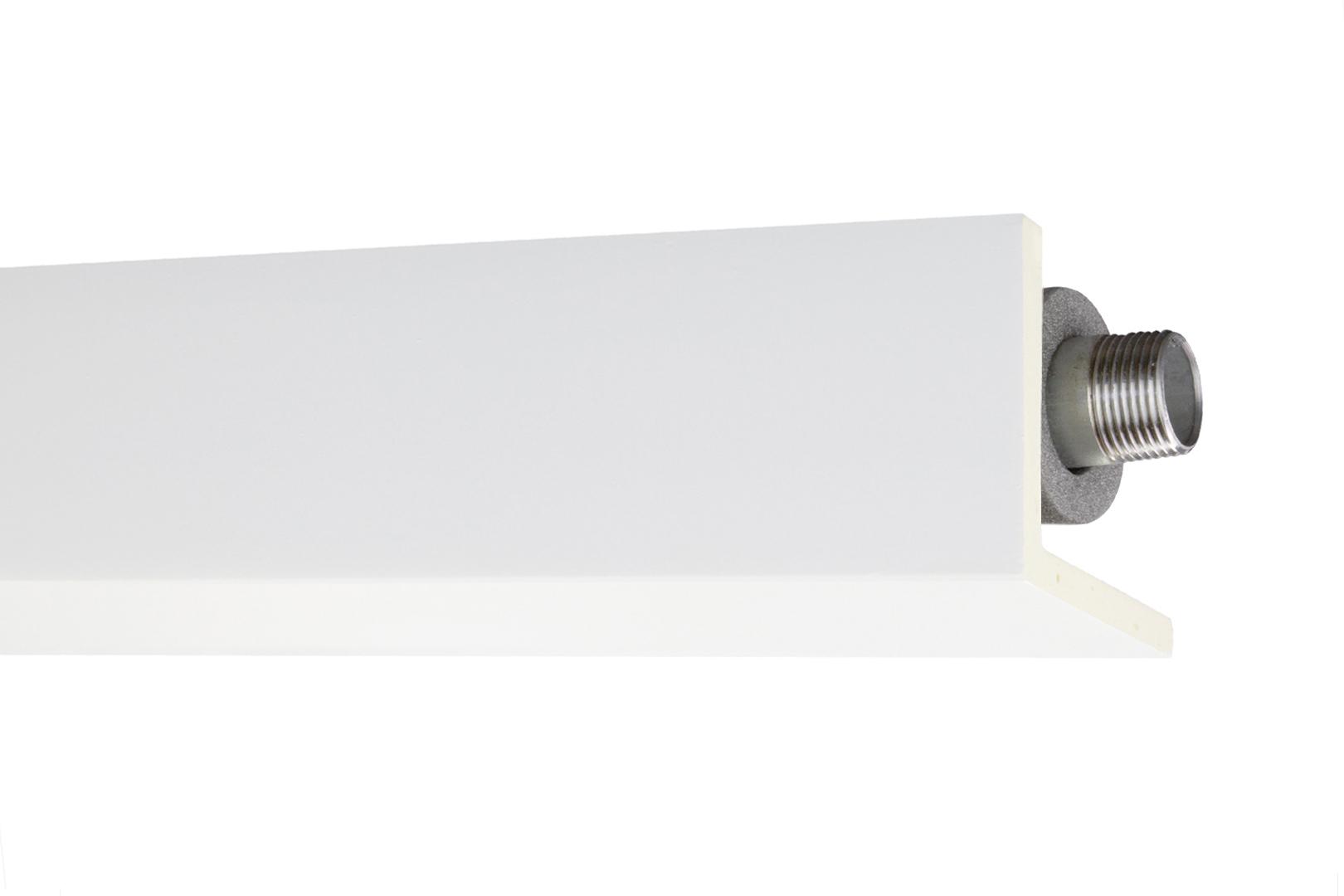 B-Ware!   Stuckleiste   Rohrabdeckung   stoßfest   PU   56x56mm   AB296   2 Meter