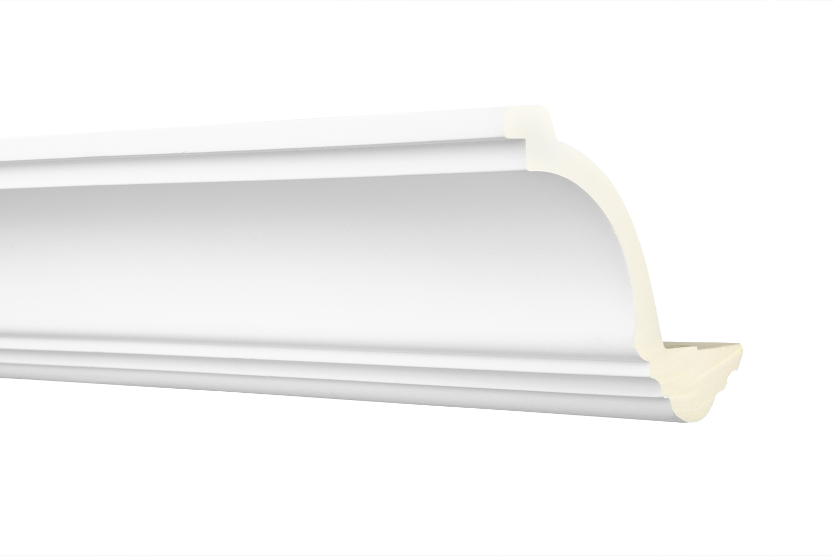 Stuckleiste | Kantenabschluss | LED Profil | PU | 128x104mm | AE003 | 2 Meter