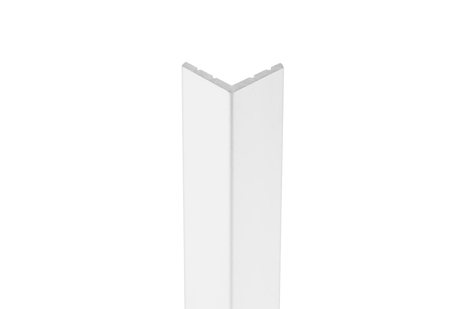 2 Meter   Außenecke   Ecopolimer   stoßfest   Cosca   18x18mm   CA2
